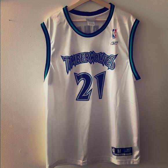 release date f8117 7f317 Minnesota Timberwolves Vintage Garnett Jersey